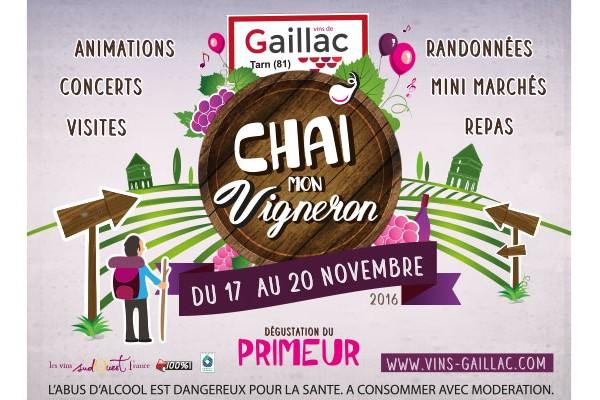 Chai mon Vigneron «Primeur Gaillac»